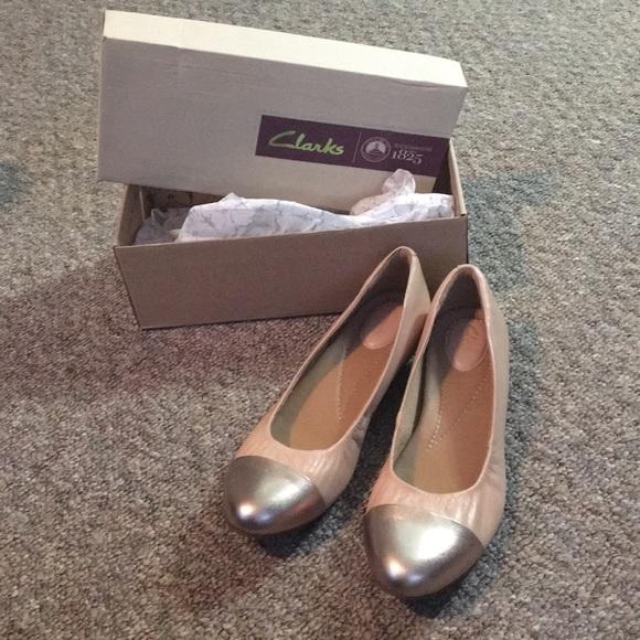 Susan Nude Flats Toe Clarks Gold Alitay Poshmark Shoes Clark Pink x8EFwqU4f